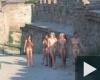 nudista lányok várnézőben