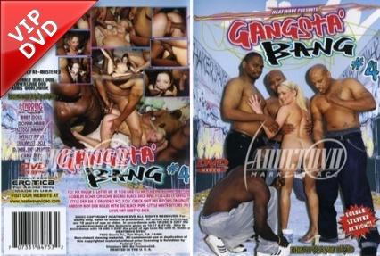 Fehér kiscsaj a néger faszok fogságában - Gangsta bang 4