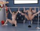 Női atlétikai erönléti edzés