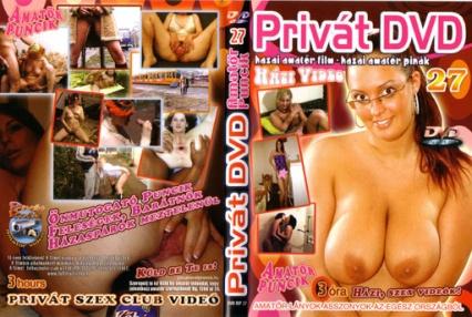 Privát DVD 27. (házi videók, 14 db amatőr film)