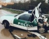 Fél rendőrautó