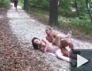 Kúrás a parkban