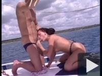 Anál, nyalás és szopás a hajón