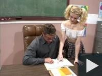 Diáklány büntetésben