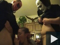 Részeg Halloween buli