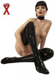 Latex harisnya - fekete