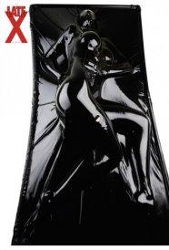 Latex vákuumágy - fekete