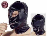 Fetish - variálható maszk (fekete)
