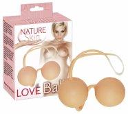 Natúr gésagolyók - Nature Skin borítással