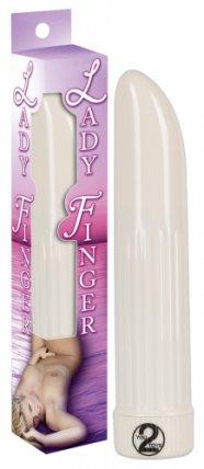 Lady finger vibrátor (fehér)
