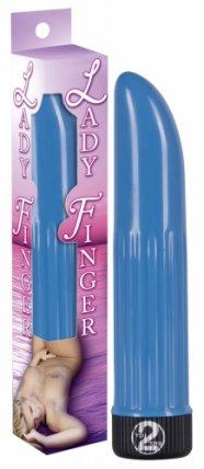 Lady finger vibrátor (kék)