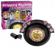 Sztriptíz Roulette - társasjáték (német nyelven)