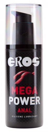 EROS Mega Power - szilikonbázisú, anál síkosító (125ml)